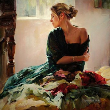 Women Painting - Pretty Girl MIG 50 Impressionist