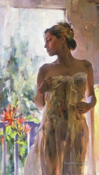 Pretty Girl MIG 54 Impressionist Oil Paintings