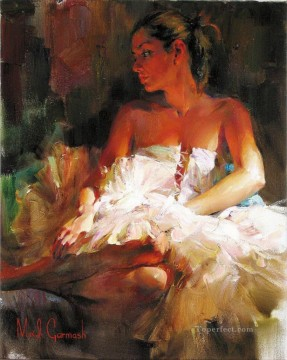 Pretty Girl MIG 58 Impressionist Oil Paintings
