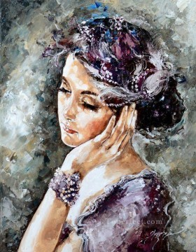 Women Painting - Pretty Woman 04 Impressionist