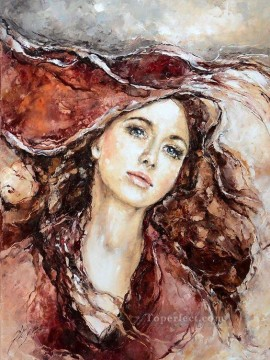 Women Painting - Pretty Woman 24 Impressionist