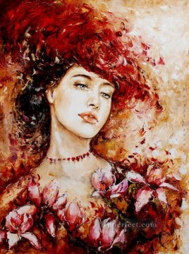 Women Painting - Pretty Woman 27 Impressionist
