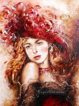 Women Painting - Pretty Woman 30 Impressionist