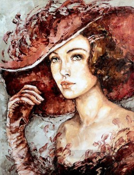 Women Painting - Pretty Woman 40 Impressionist