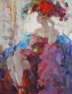 Pretty Woman 48 Impressionist Oil Paintings