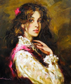 Women Painting - Pretty Woman AA 14 Impressionist