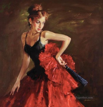Pretty Woman AA 15 Impressionist Oil Paintings