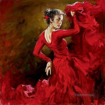 Women Painting - Pretty Woman AA 19 Impressionist