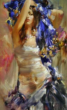 Women Painting - Pretty Woman ISny 02 Impressionist