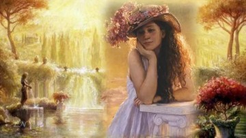 Women Painting - Pretty Women HH 20 Impressionist