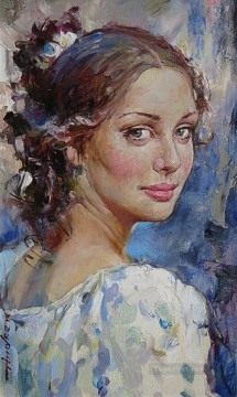 The Glance AA Impressionist Oil Paintings