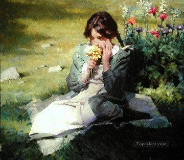 day dreamer MW Impressionist Oil Paintings