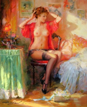 Women Painting - Beautiful Girl KR 002 Impressionist