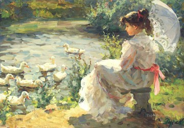 Women Painting - Beautiful Girl VG 07 Impressionist