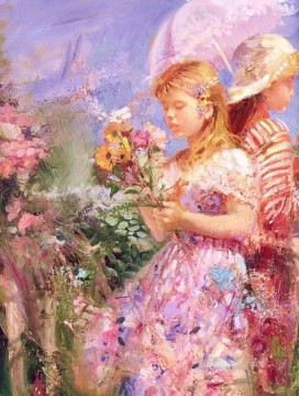 Deflowers Girls PD Woman Impressionist Oil Paintings