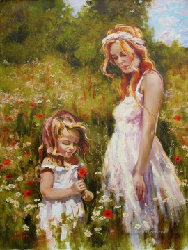 Lovely Girl IS 04 Impressionist Oil Paintings