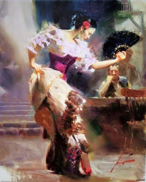 Women Painting - Pino Daeni 4 beautiful woman lady