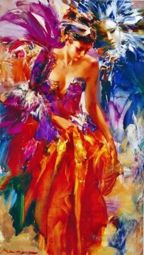 Pretty Woman ISny 16 Impressionist Oil Paintings
