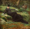 Rendez vous in the Bois de Boulogne Jan van Beers woman