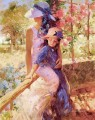 Summer Afternoon PD Woman Impressionist