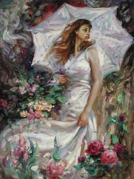 Women Painting - Summer Breeze