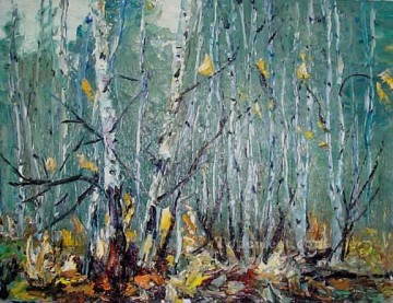 yxf039aC impressionist by palette knife Oil Paintings