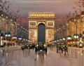 Arc de Triomphe KG by knife