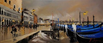 Venice KG by knife Oil Paintings