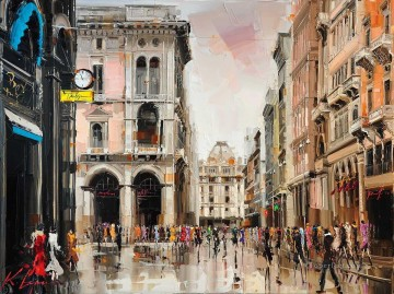 milano KG by knife Oil Paintings