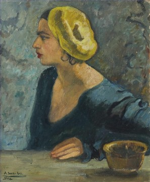 Amrita Sher Gil Self portrait untitled Indian Oil Paintings
