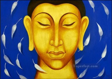 the buddha Indian Oil Paintings