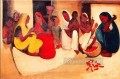 Amrita Sher Gil Village scene 1938 Indian