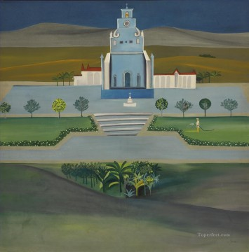 Popular Indian Painting - BK church and ga Indian
