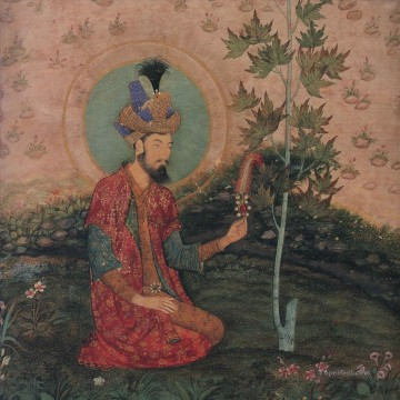 Popular Indian Painting - Emperor Humayun Indian