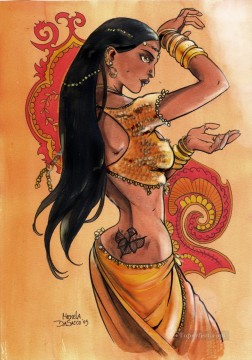 Indian Painting - Indian Dance