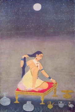 Popular Indian Painting - Indischer Maler Indian