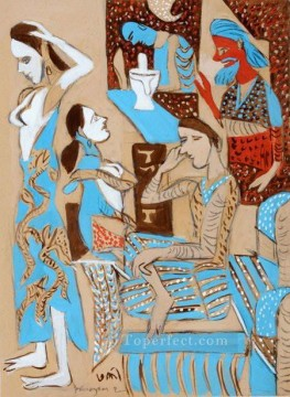 Popular Indian Painting - K G Subhramanyan Indian