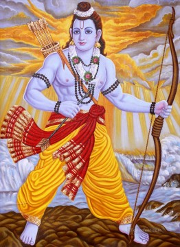 Popular Indian Painting - Lord Rama Indian