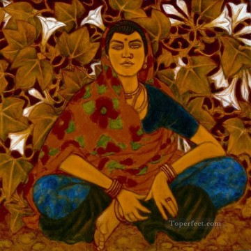 Popular Indian Painting - Ramachandran Indian