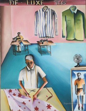 Popular Indian Painting - BK De Lux Tailors Indian