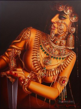 Popular Indian Painting - Deadly Beauty India