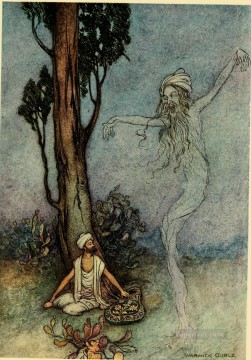 Popular Indian Painting - Warwick Goble Falk Tales of Bengal 11 from India