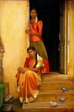 Indian Painting - sisters India