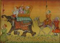 procession with elephant from India