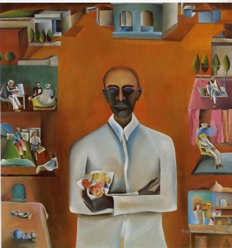 Popular Indian Painting - Bhupen Khakhar from India