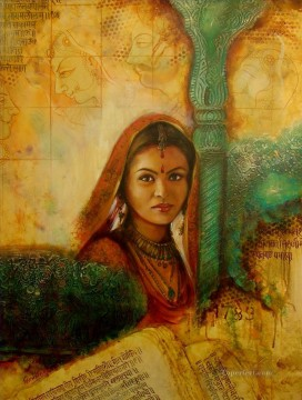 from India 30 Oil Paintings