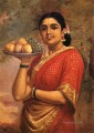 Raja Ravi Varma The Maharashtrian Lady
