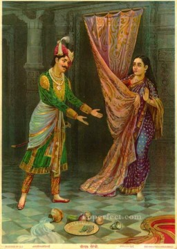 KEECHAK SAIRANDRI Raja Ravi Varma Indians Oil Paintings