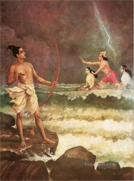Rama Varuna Raja Ravi Varma Oil Paintings