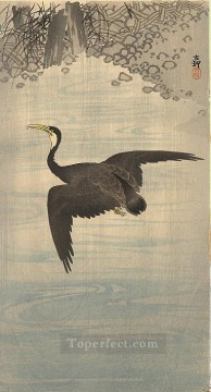 cormorant Ohara Koson Japanese Oil Paintings
